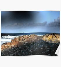 The Giant's Causeway, Northern Ireland~March Shadows Poster