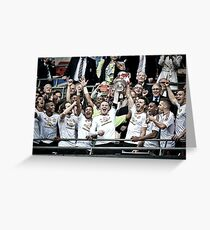 Manchester United - FA Cup 2016 Winners Greeting Card