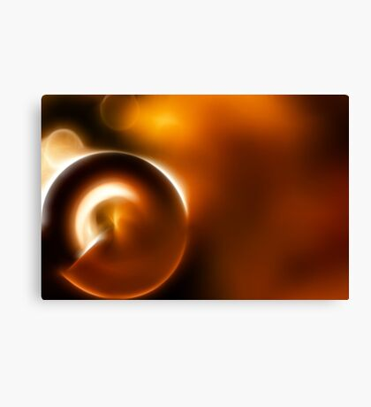 Warm Bokeh Canvas Print
