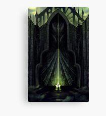 The Black City Gates Canvas Print
