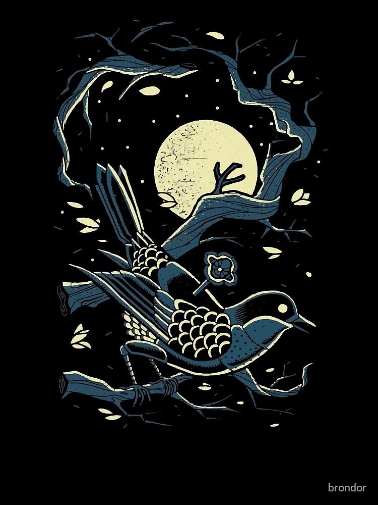 haruki murakami bird moon by brondor