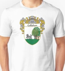Callahan Coat of Arms/Family Crest Unisex T-Shirt
