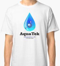 Aquatek Pro Water Purification Co. logo Classic T-Shirt