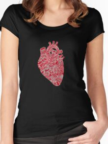 Lonely hearts Women's Fitted Scoop T-Shirt