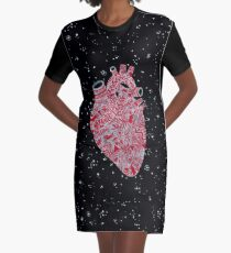 Lonely hearts Graphic T-Shirt Dress
