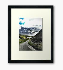 Beautiful Irish Afternoon in Donegal Framed Print