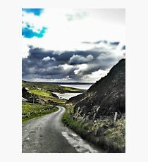 Beautiful Irish Afternoon in Donegal Photographic Print