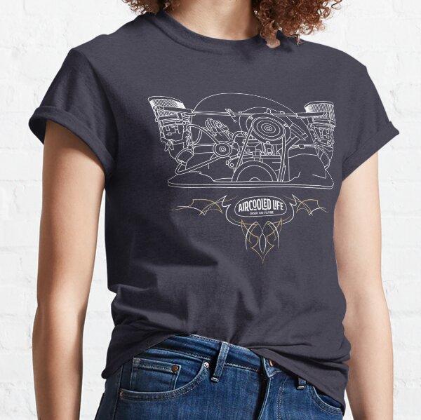 Aircooled Life - Classic Car Culture (Engine) Classic T-Shirt