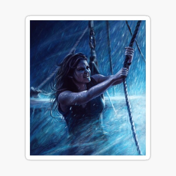 Captain Emma Swan Sticker