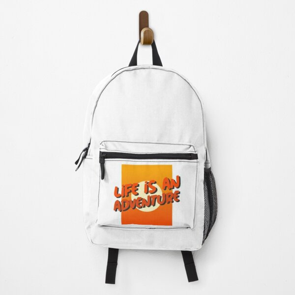 Life Is An Adventure Backpack