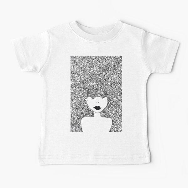 Big Hair Don't Care Baby T-Shirt