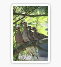 Dove Family Sticker