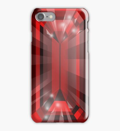 Ruby - E cut iPhone Case/Skin