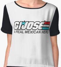 G.I. Jose A Real Mexican Hero Chiffon Top