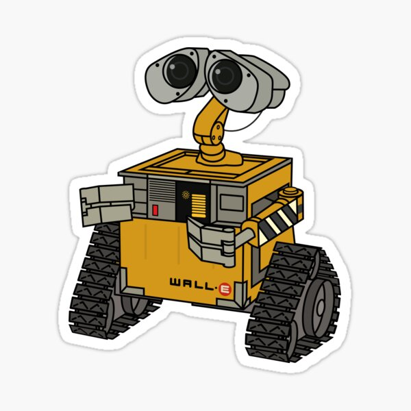 Wall-e Pegatina