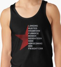 Code Comply Of Winter Soldier Tank Top