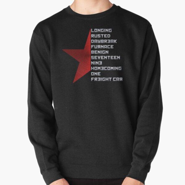 Code Comply Of Winter Soldier Pullover Sweatshirt