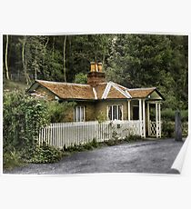 Toll House (Hand Coloured) Poster