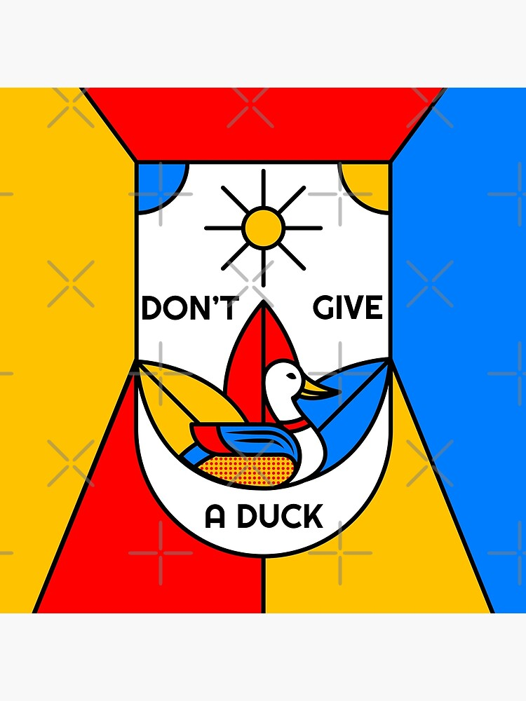 Don't Give a Duck - The Subtle Art of Not Giving a Fuck - I Don't Give a Fuck - I Don't Care by Ranggasme