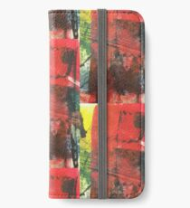 Tropic red  iPhone Wallet/Case/Skin