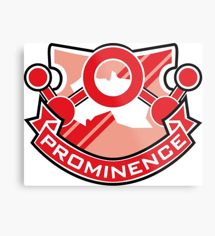 Accel World - Prominence Insignia (Red King) Metal Print