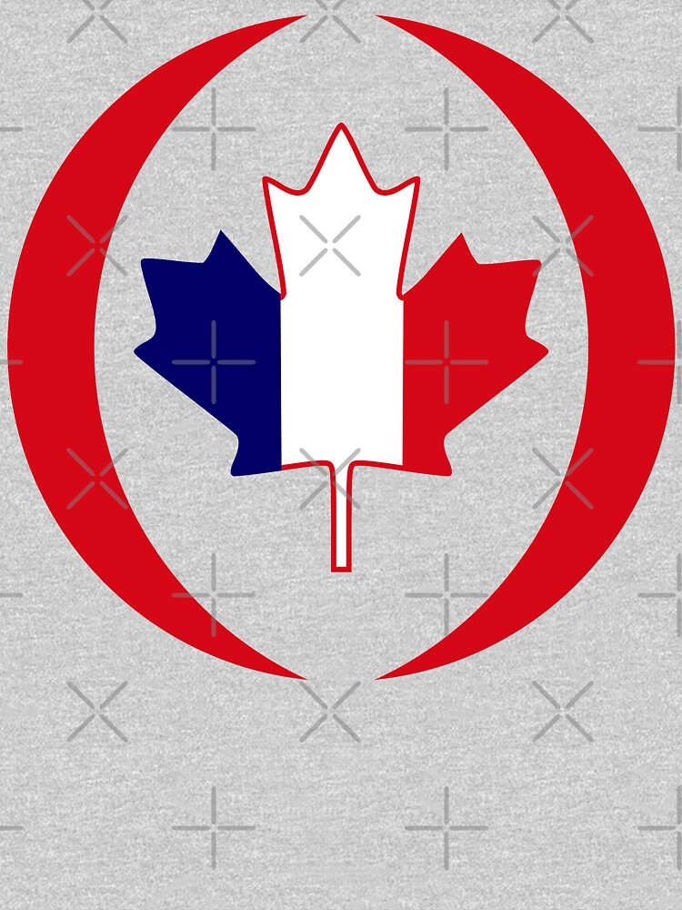 French Canadian Multinational Patriot Flag Series by carbonfibreme