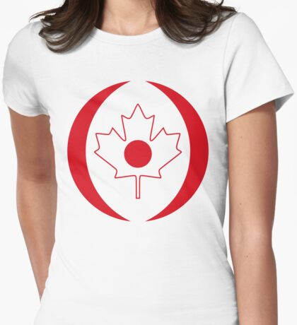 Japanese Canadian Multinational Patriot Flag Series T-Shirt