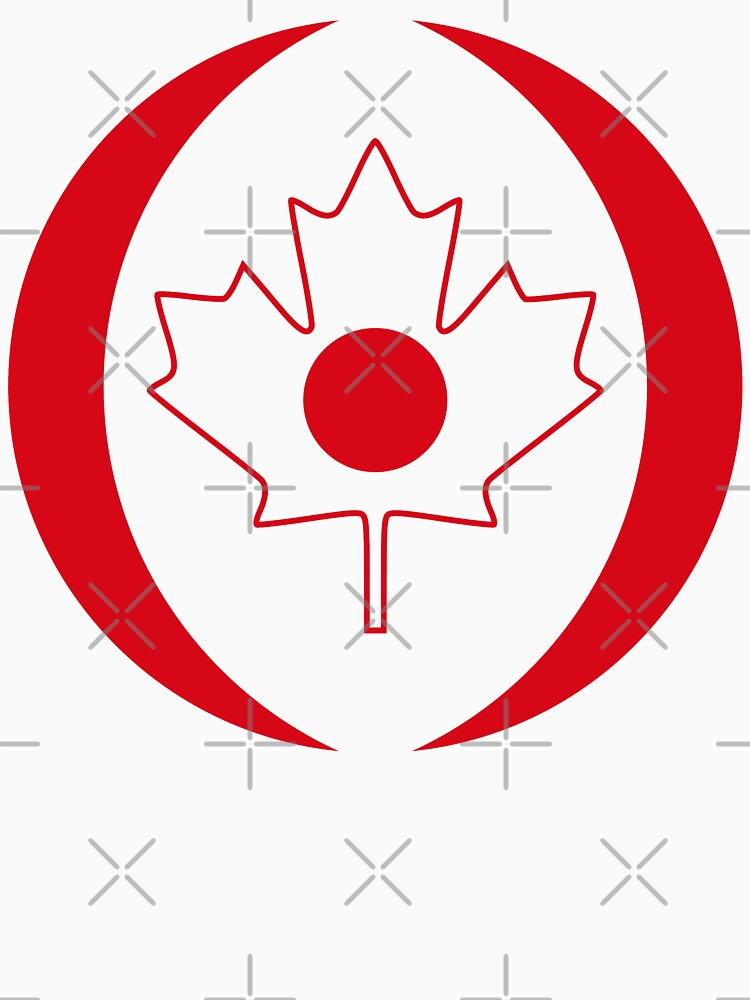 Japanese Canadian Multinational Patriot Flag Series by carbonfibreme