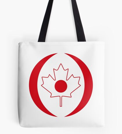 Japanese Canadian Multinational Patriot Flag Series Tote Bag