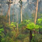 Smoke Gets In My Eyes #2 - Painted - The HDR Experience by Philip Johnson