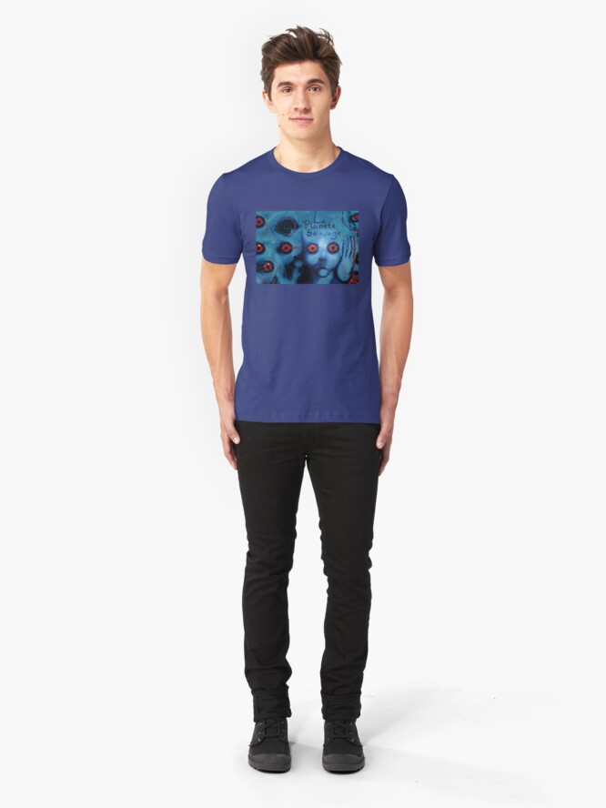 Alternate view of La Planete Sauvage Slim Fit T-Shirt