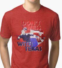 Texas Rangers Punch Tri-blend T-Shirt