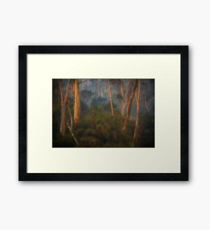 Smoke Gets In My Eyes #1 - Painted - The HDR Experience Framed Print