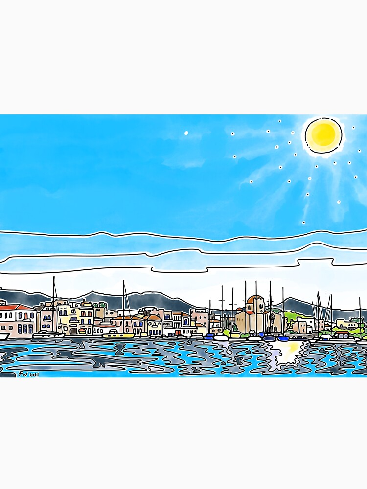 Aegina Harbour by FionaWeir