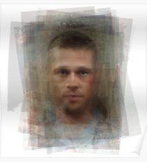 Tyler Durden Brad Pitt Fight Club  Poster