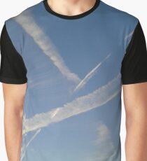 Sky Streaks Graphic T-Shirt