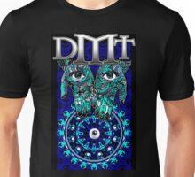 "DMT - Blue ""In gods Hands"" Unisex T-Shirt"