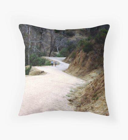 A metaphor for life itself Throw Pillow