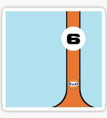 Gulf Racing  Sticker