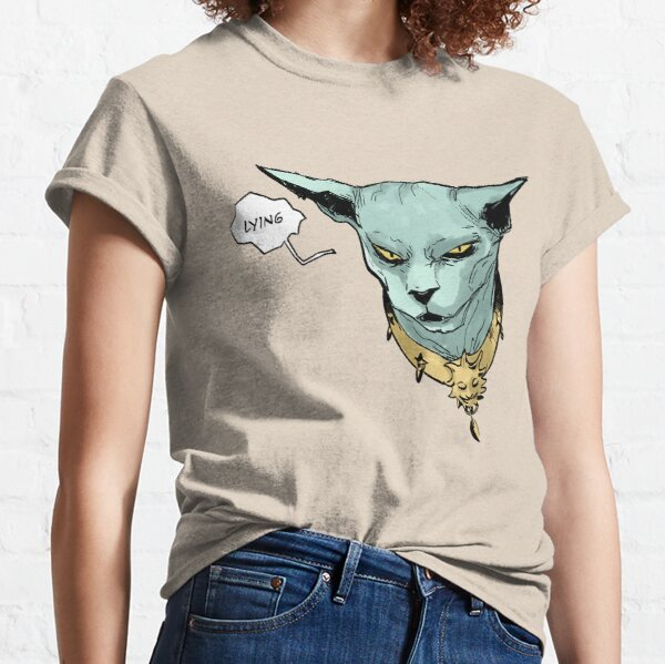 Lying Cat Classic T-Shirt