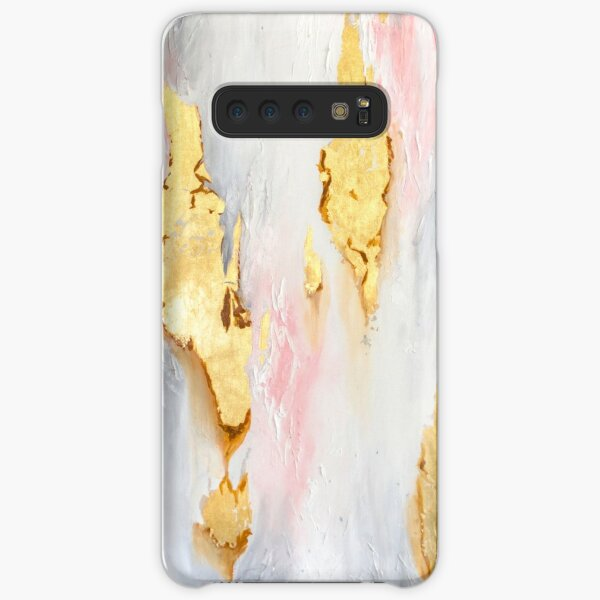Gold Marble Samsung Galaxy Snap Case