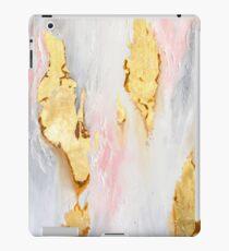 Goldmarmor iPad-Hülle & Klebefolie
