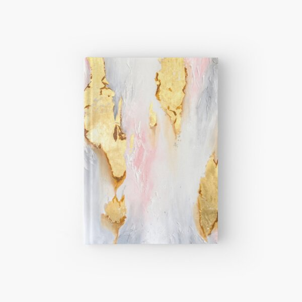 Gold Marble Hardcover Journal