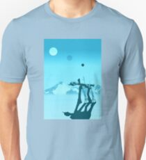 Snow walker Unisex T-Shirt