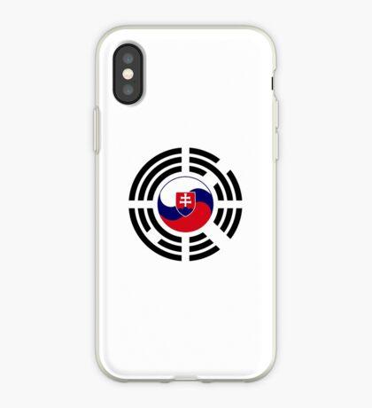 Korean Slovakian Multinational Patriot Flag Series iPhone Case