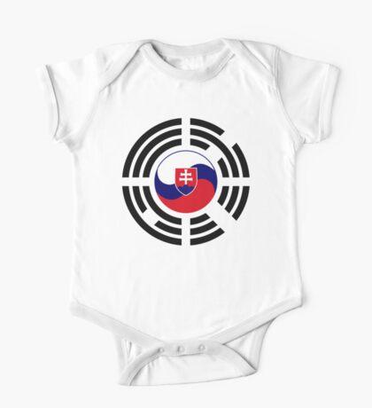 Korean Slovakian Multinational Patriot Flag Series Kids Clothes