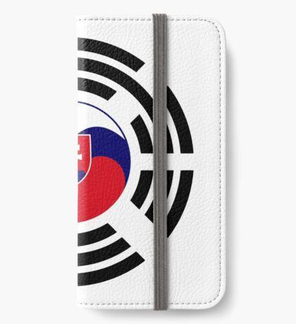 Korean Slovakian Multinational Patriot Flag Series iPhone Wallet