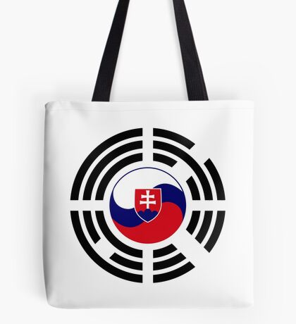 Korean Slovakian Multinational Patriot Flag Series Tote Bag