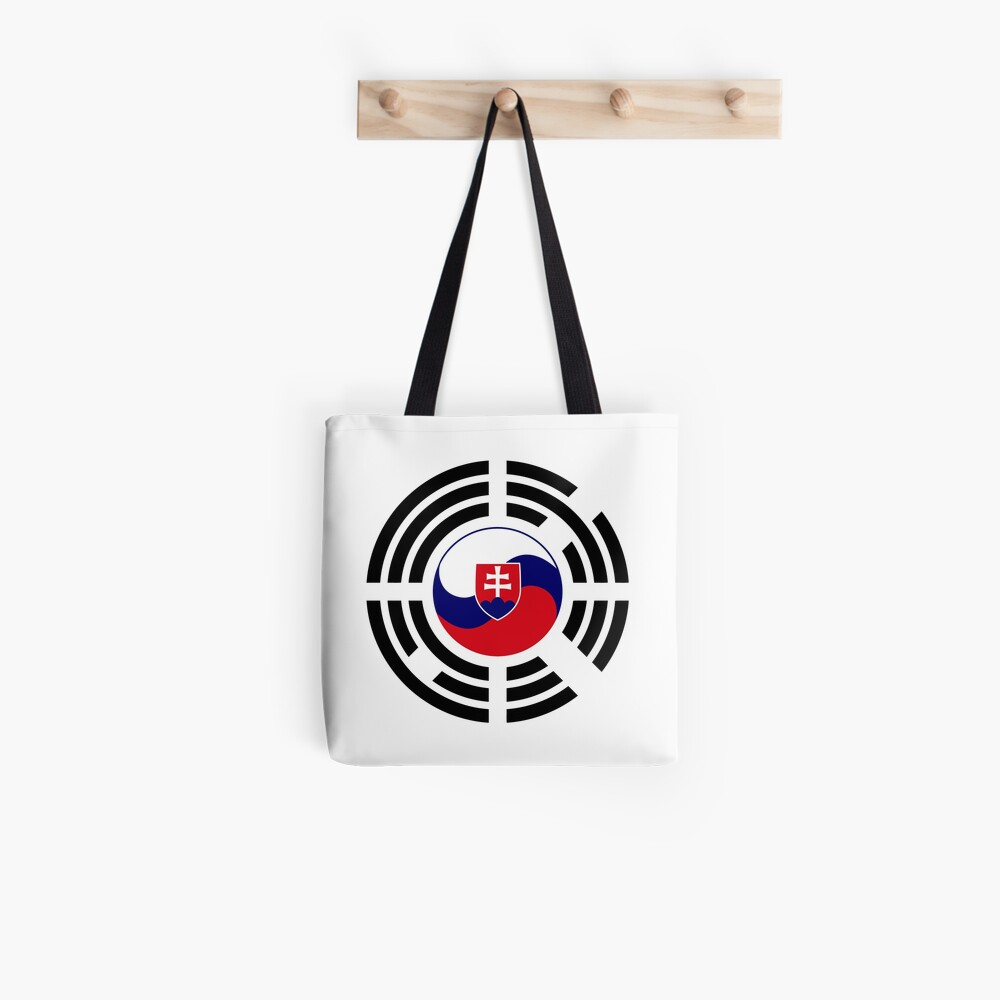 Korean Slovakian Multinational Patriot Flag Series Tote Bag