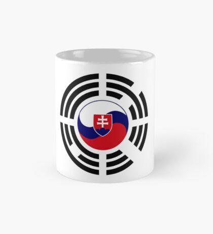 Korean Slovakian Multinational Patriot Flag Series Mug